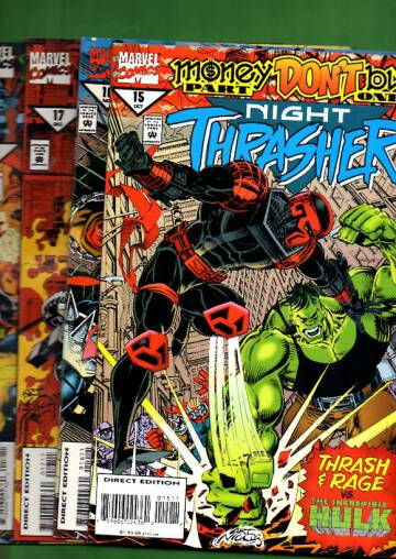 Night Trasher Vol 1 #15-18: Money Don´t Buy Oct 94-Jan 95