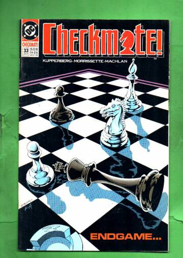 Checkmate #33 Jan 91