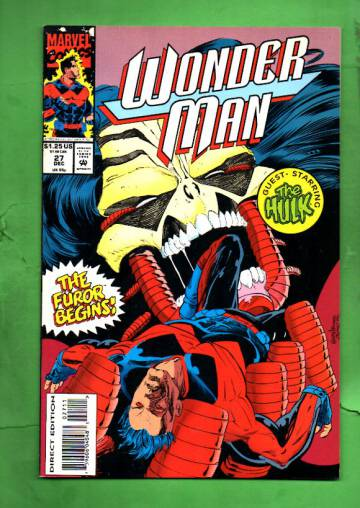 Wonder Man Vol. 1 #27 Dec 93