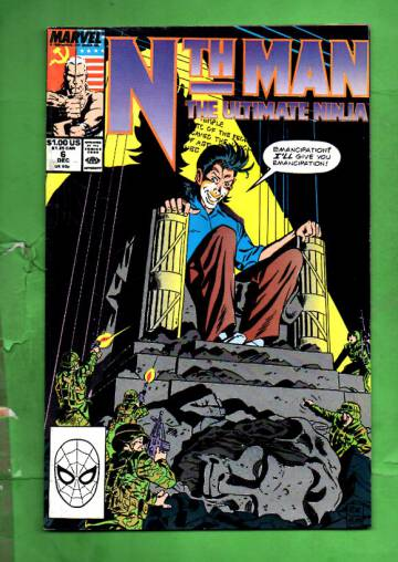 Nth Man Vol 1 #6 Dec 89