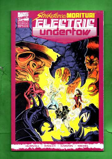 Strikeforce: Morituri Electric Undertow Vol 1 #5 Mar 90