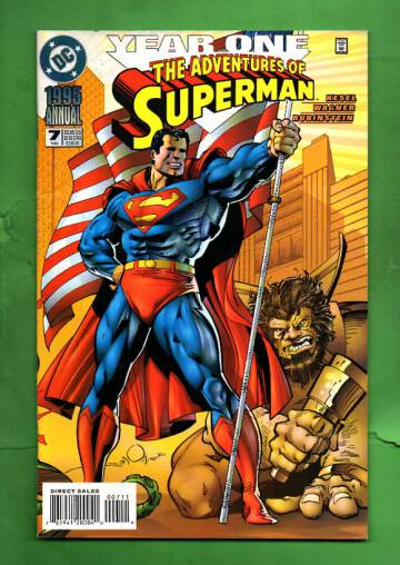 Adventures of Superman Annual #7 95