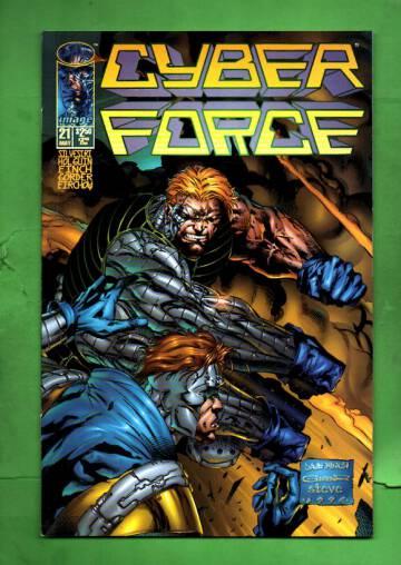 CyberForce Vol 2 #21 May 96