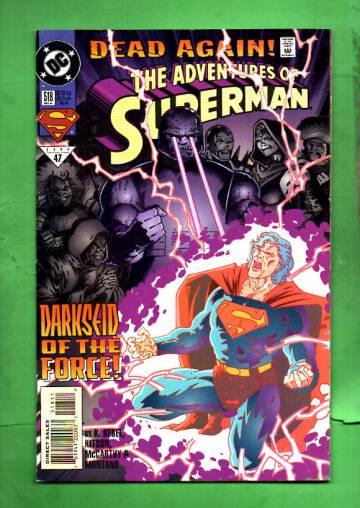 Adventures of Superman #518 Dec 94