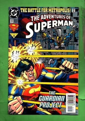 Adventures of Superman #513 Jun 94