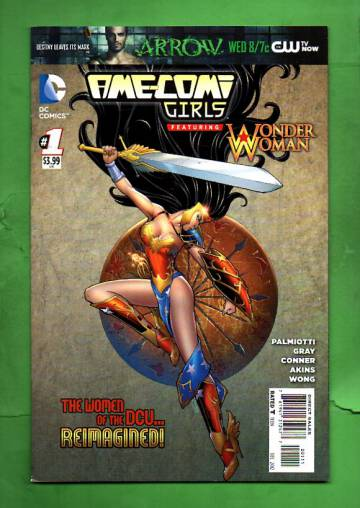 Ame-Comi Girls featuring Wonder Woman #1 Dec 12