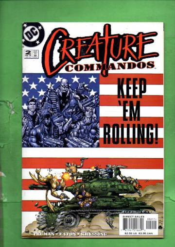 Creature Commandos #2 Jun 00