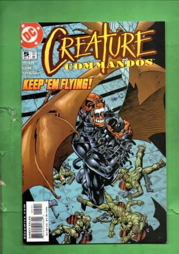Creature Commandos #5 Sep 00