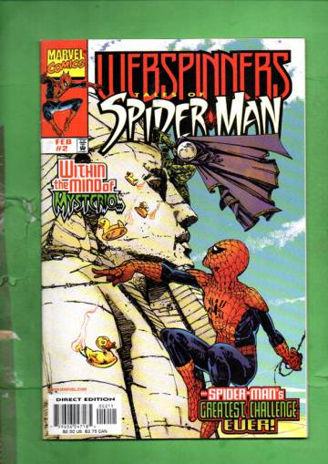 Webspinners: Tales of Spider-Man Vol. 1 #2 Feb 99