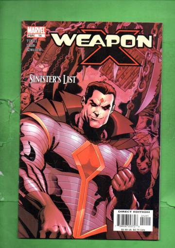Weapon X Vol. 1 #14 Dec 03