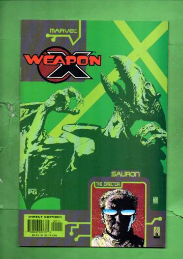 Weapon X: The Draft - Sauron Vol. 1 #1 Oct 02