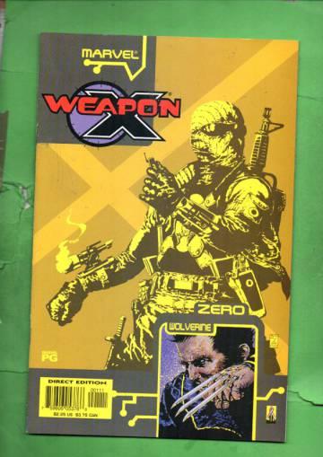 Weapon X: The Draft - Agent Zero Vol. 1 #1 Oct 02
