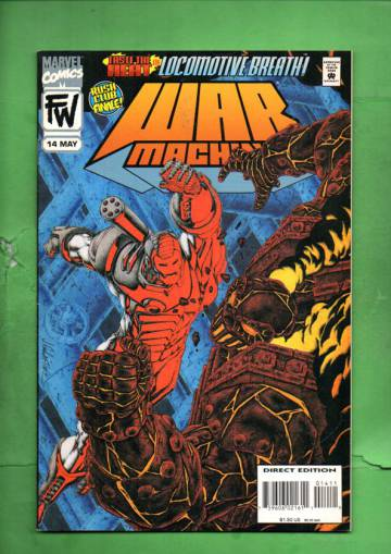 War Machine Vol. 1 #14 May 95