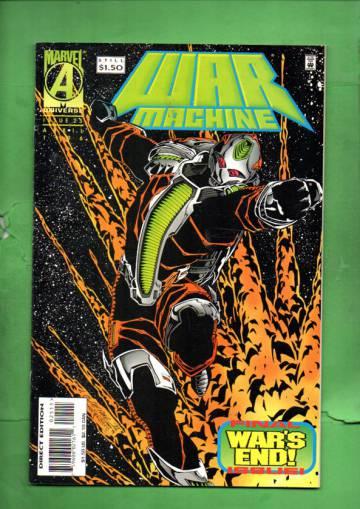 War Machine Vol. 1 #25 Apr 96