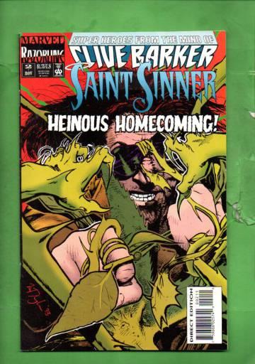 Saint Sinner Vol. 1 #2 Nov 93