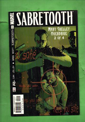 Sabretooth: Mary Shelley Overdrive Vol. 1 #2 Sep 02