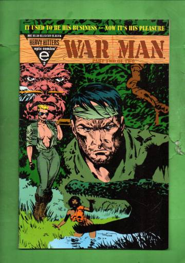 War Man Vol. 1 #2 Dec 93