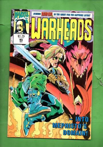 Warheads Vol. 1 #6 Nov 92