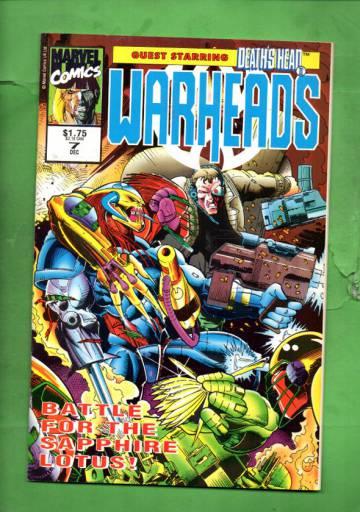 Warheads Vol. 1 #7 Dec 92