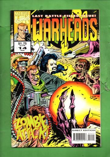 Warheads Vol. 1 #14 Aug 93