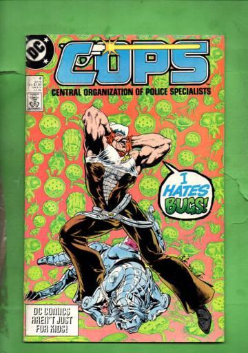 Cops #4 Nov 88