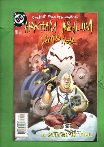 Arkham Asylum: Living Hell #3 Sep 03