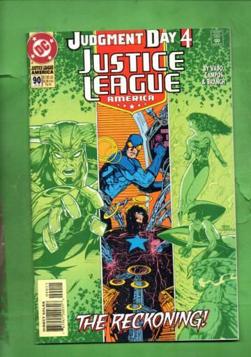 Justice League America #90 Jul 94