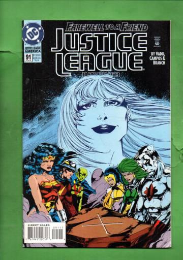 Justice League America #91 Aug 94
