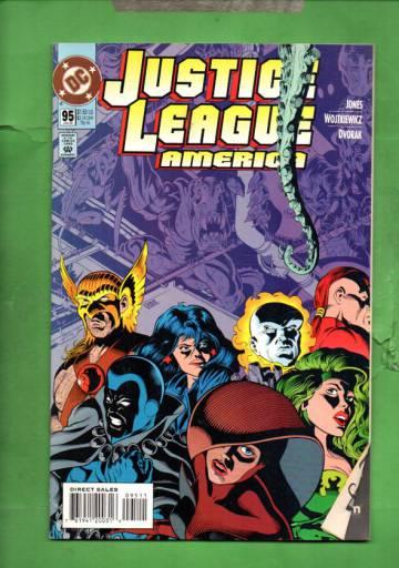 Justice League America #95 Jan 95