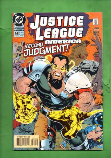 Justice League America #96 Feb 95