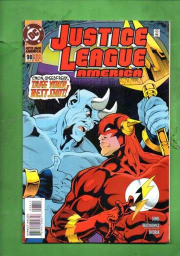 Justice League America #98 Apr 95