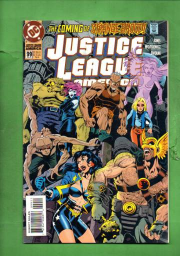 Justice League America #99 May 95