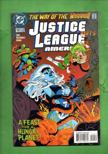 Justice League America #102 Aug 95