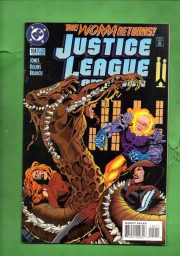 Justice League America #104 Oct 95