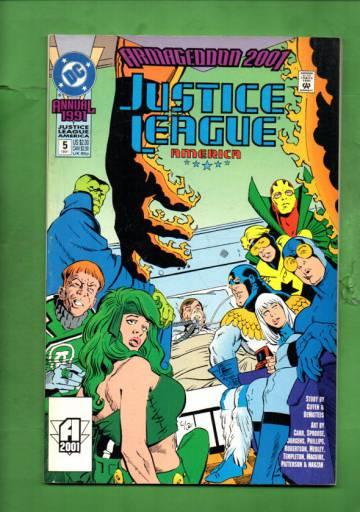 Justice League America Annual #5 91