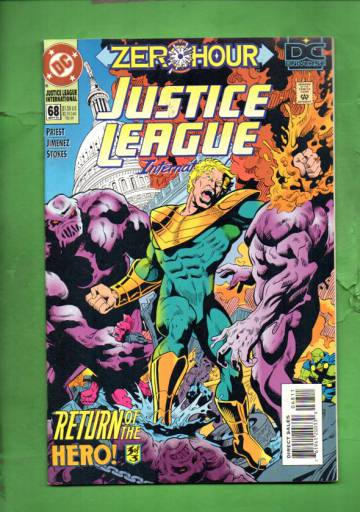 Justice League International #68 Sep 94