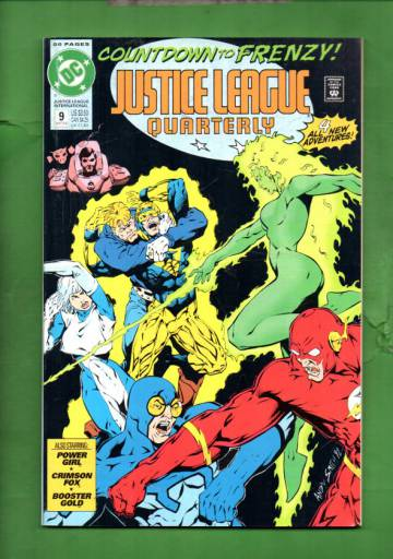 Justice League International Quarterly #9 Winter 92