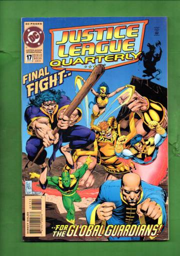 Justice League International Quarterly #17 Winter 94