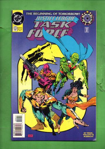 Justice League Task Force #0 Oct 94