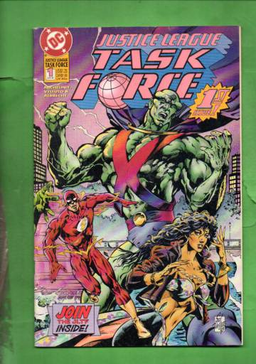 Justice League Task Force #1 Jun 93