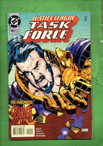 Justice League Task Force #19 Jan 95