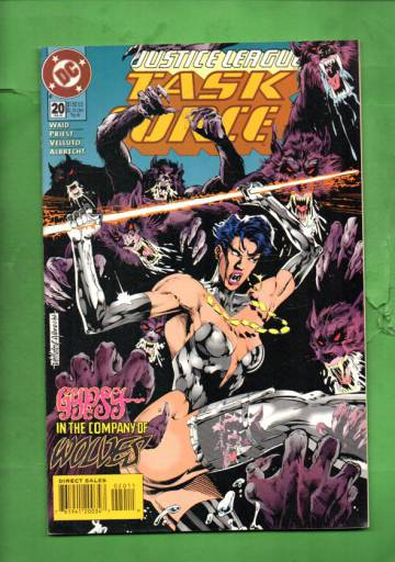 Justice League Task Force #20 Feb 95