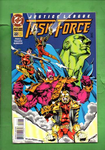 Justice League Task Force #22 Apr 95