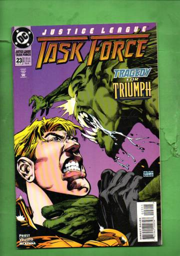 Justice League Task Force #23 May 95