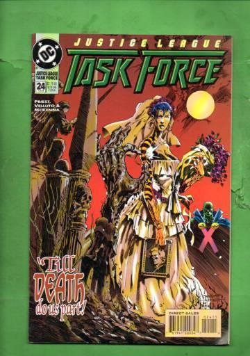 Justice League Task Force #24 Jun 95