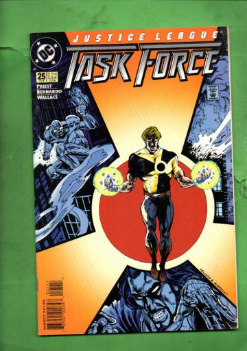 Justice League Task Force #25 Jul 95