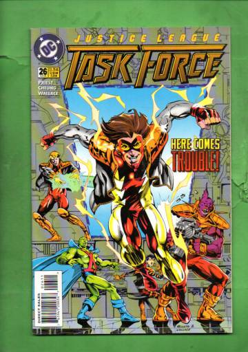Justice League Task Force #26 Aug 95