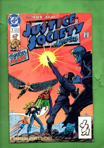 Justice Society of America #7 Oct 91