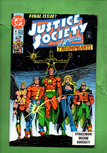 Justice Society of America #8 Nov 91