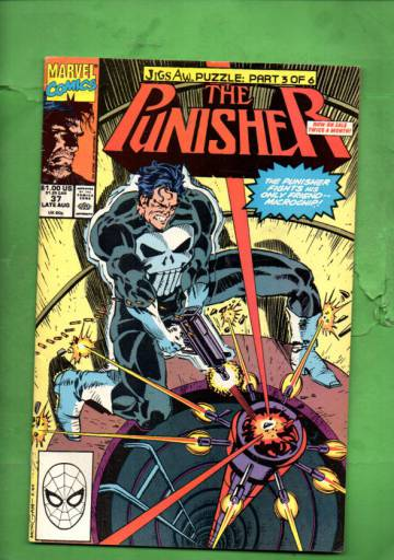 The Punisher Vol 2 #37 Late Aug 90